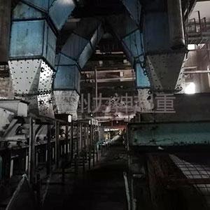 不锈钢曲线落煤管